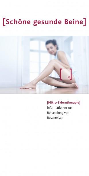 <p>Flyer Schöne gesunde Beine</p>