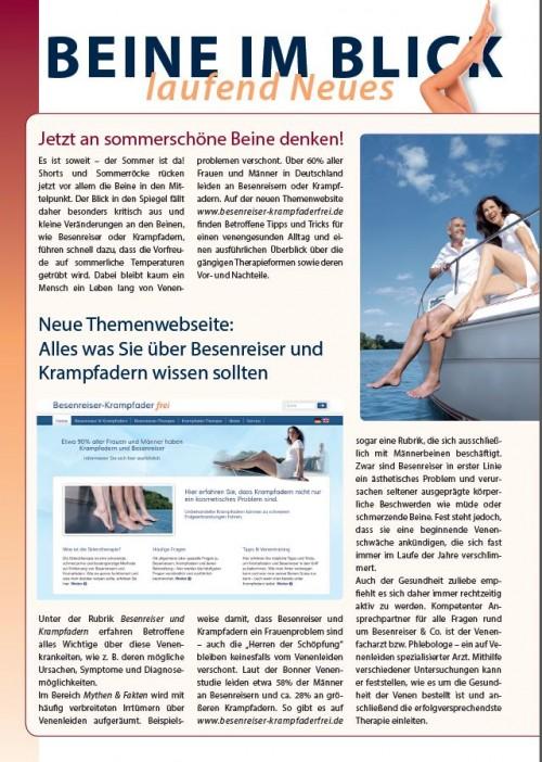 Newsletter Kreussler Sommer 2015